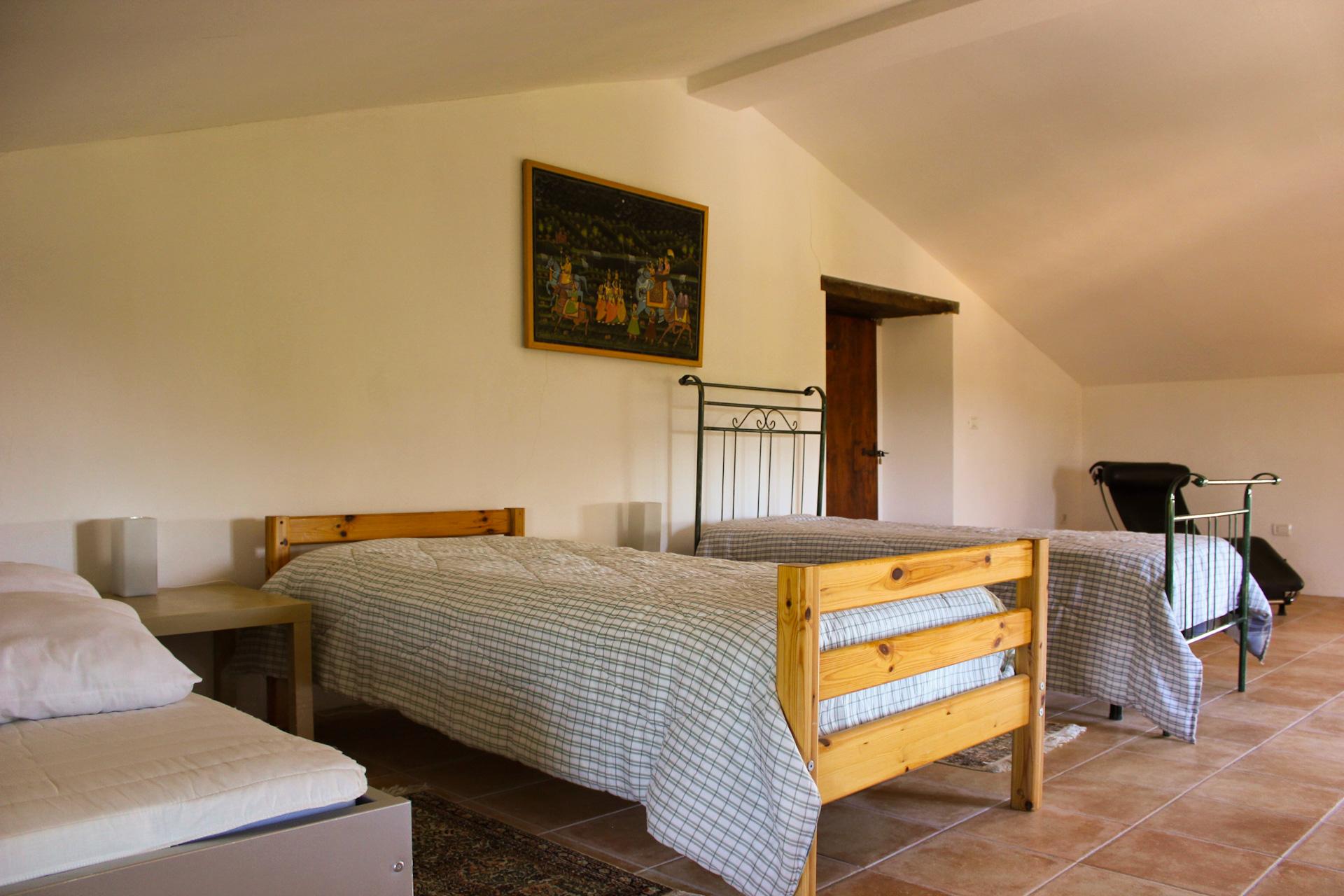 Slaapkamer bovenste etage